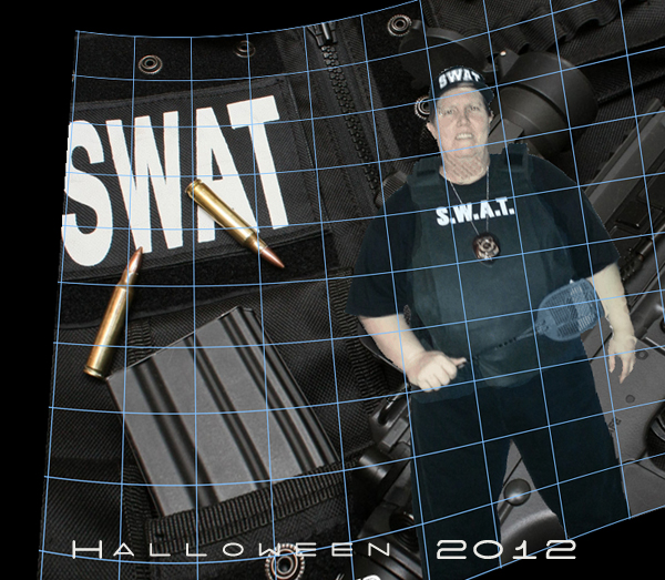 Swat Team Member. Have you been swatted today?